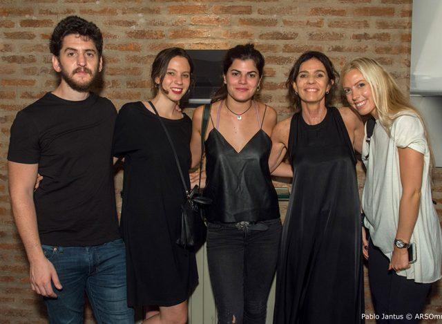 Nancy Bensignor, con Flor Aparicio Solana y Anabella